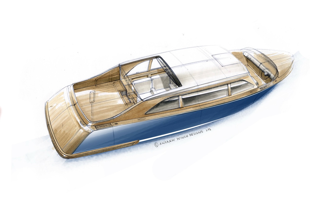 Hodgdon Limot Superyacht Tender by Andrew Winch Designs