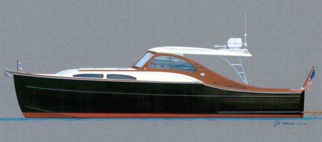 Huckins Sportsman 36 Yacht Tender