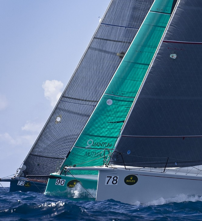 Literary News From All Corners Of The World: 39th International Rolex Regatta: Sailing Yachts From All
