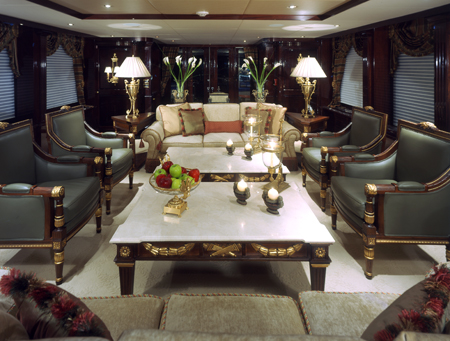 Ionian Princess yacht - Lounge