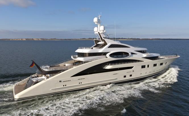 Lurssen superyacht ACE - Photo by Klaus Jordan