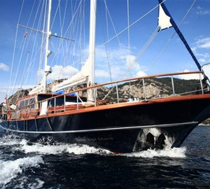 Turkish gulets Dea Delmare and Grande Mare for luxury yacht charter around Turkey