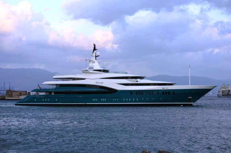 Luxury yacht SUNRAYS
