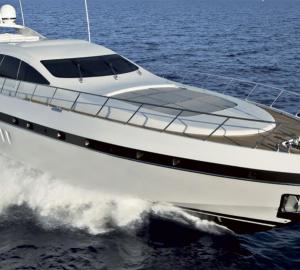 New Motor Yacht Mangusta 92 by Overmarine