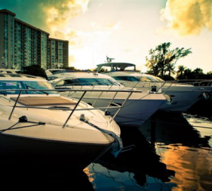 2012 Miami Boat Show with Stylish Yachts, Boating Tech Toys