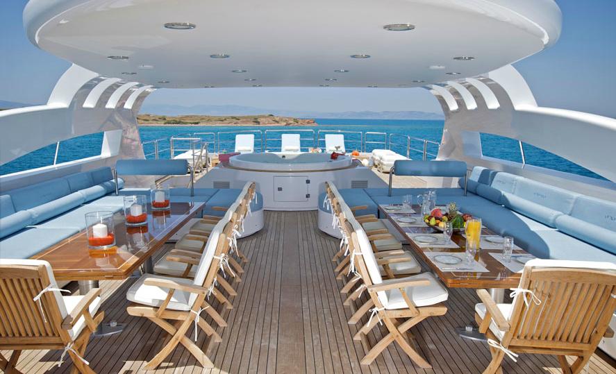 Superyacht O'Neiro - Upper Deck