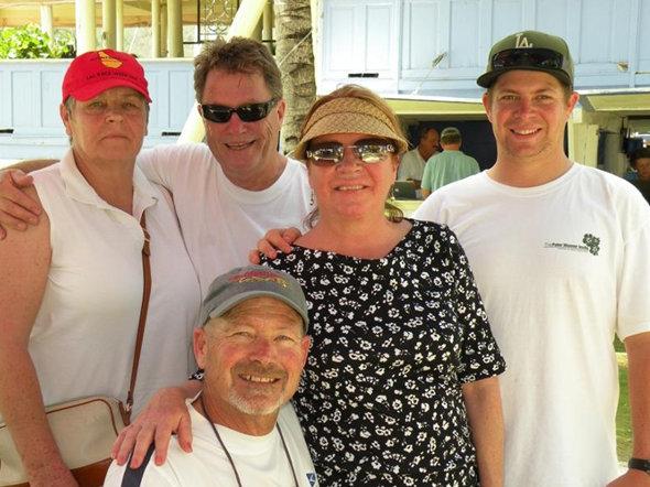 Team Trolly Car Credit Louay HabibBVI Spring Regatta & Sailing Festival