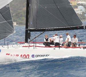 BVI Spring Regatta & Sailing Festival 2012: Farr 400 sailing yacht Blade wins the 2012 Nanny Cay Cup