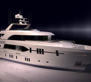 36.9m motor yacht OCEAN ALEXANDER 120 by Ocean Alexander Yachts and Christensen Shipyards