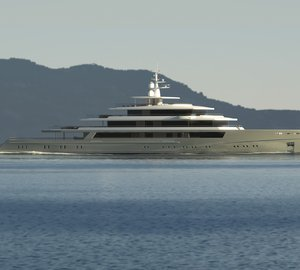 90m motor yacht PROJECT LIGHT by Nauta Yachts