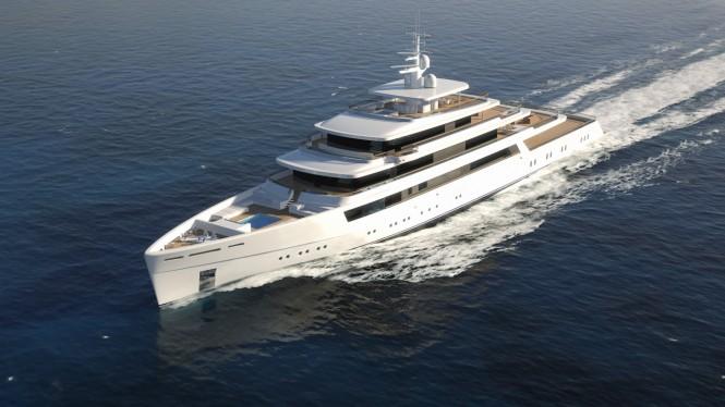 90m superyacht PROJECT LIGHT