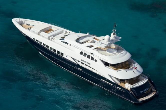 A sistership to motor yacht Bernardo - the motor yacht Petra