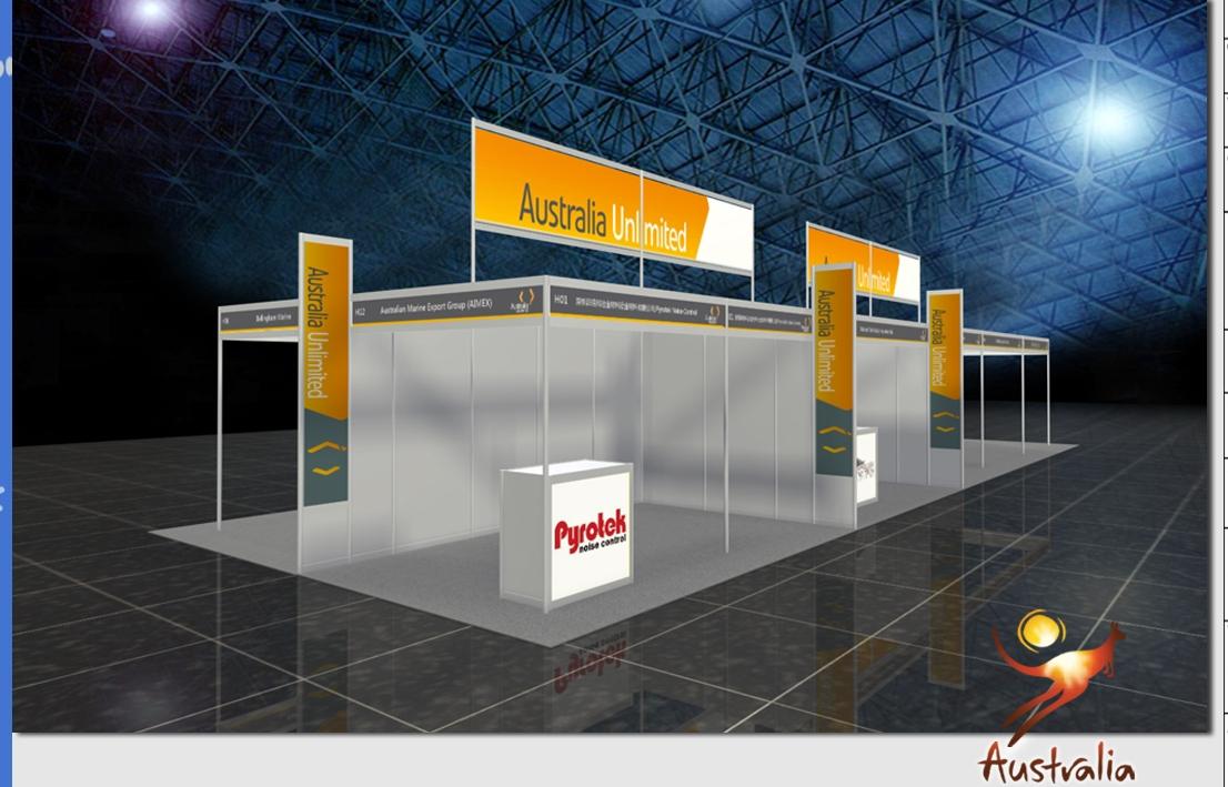 AIMEX Australian Pavilion at the Shanghai Boat Show