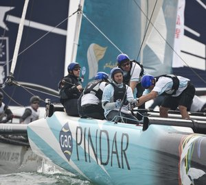 Extreme Sailing Series - Act 2 Qingdao: The Wave, Muscat extends its lead on the penultimate day