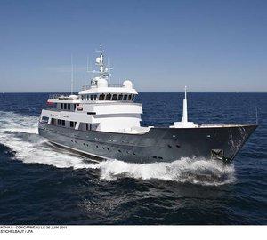 43m JFA luxury yacht AXANTHA II among the finalists for the ShowBoats Design Awards 2012