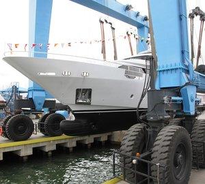Benetti launch Delfino 93' motor yacht AZUL