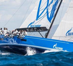 Mapfre Palma Vela Regatta: Day 1 - Consistent Results for Yacht Club of Saint-Petersburg´s Swan 60 yacht Bronenosec