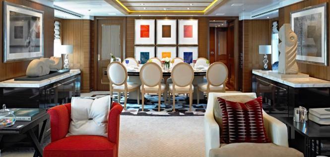 Charter Yacht Kathleen Anne - Dining