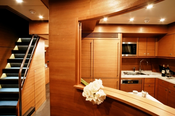 Charter Yacht Mayama - Galley