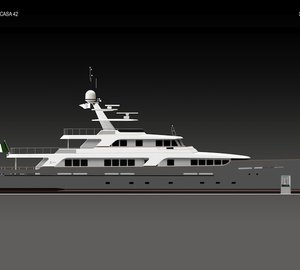 New  Codecasa 42 Vintage yacht hull F75 to be launched in spring 2013