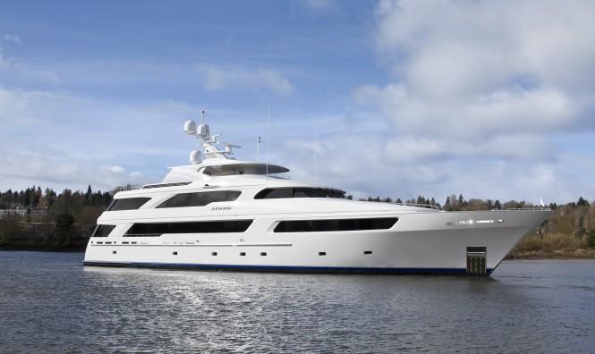 Delta´s luxury motor yacht Arianna