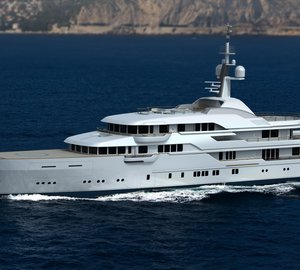 78.50m Feadship motor yacht HAMPSHIRE II (hull 806) launched