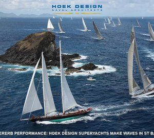 St. Barths Bucket Regatta 2012: Great Success for Hoek Design Superyachts