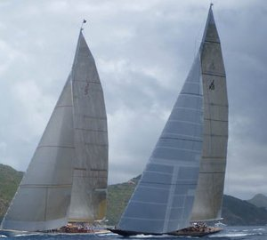 The number of J-Class Superyachts attending the UK Regattas revised
