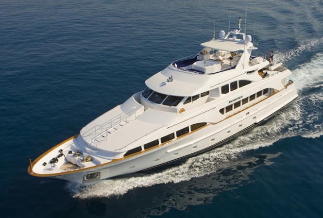 Luxury Yacht Enchantress - ex Distraction