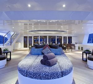 "Yacht charter aboard world's largest catamaran HEMISPHERE as prize in Christie's ""Bid to Save the Earth"" Green Auction"