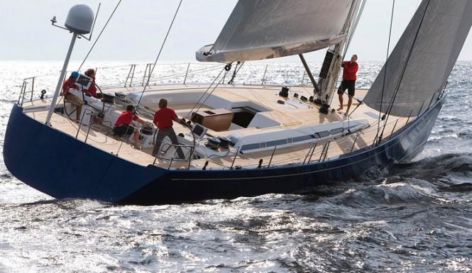 Luxury sailing yacht SWAN 80