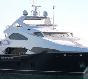 Luxury charter yacht Barracuda Red Sea available for charter in the Eastern Mediterranean this Summer