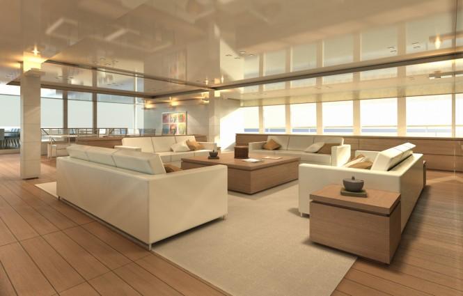PROJECT LIGHT superyacht Salon