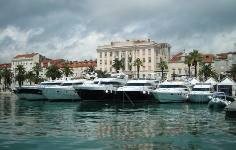 Princess luxury yachts on display at the Show