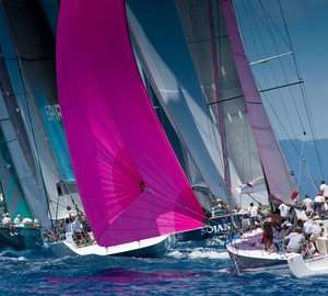Les Voiles de St. Barth 2012: Tight at the top