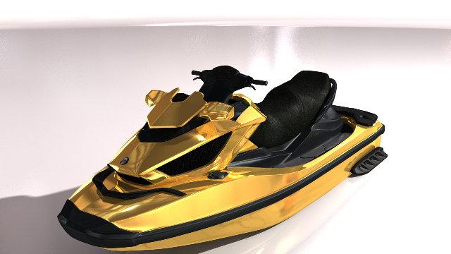 Seadoo RXT 260 jet-ski Gold