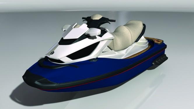 Seadoo RXT 260 jet-ski Navy Blue x2 Cream Red Decking