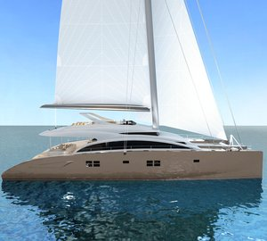 First interior renderings of the superyacht Sunreef 82 DD due to be launched in July 2012