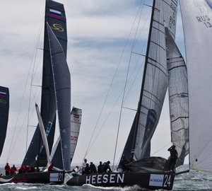 Team Synergy/Heesen wins first and third place at the recent Cascais Cup