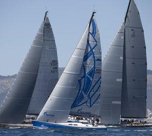 Swan 60 yacht Bronenosec takes 7th place at Mapfre Palma Vela 2012