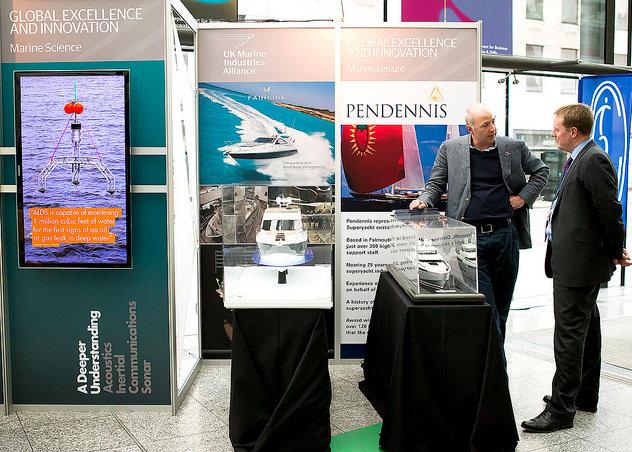 The prestigious UK shipyard Pendennis attending the showcase