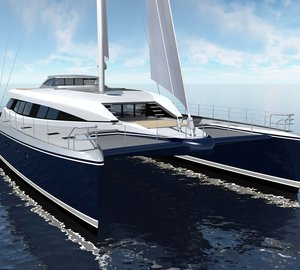 100ft sailing yacht Q5 (hull YD66) by Yachting Developments to be launched early June 2012