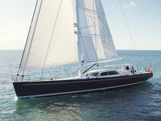 30m sailing yacht Antares III by Yachting Developments