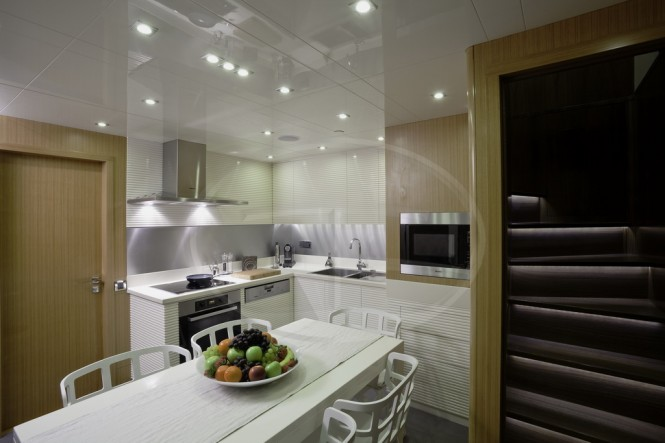 31.7m motor yacht AD5 Galley