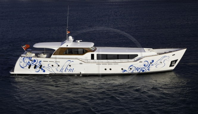 31.7m motor yacht AD5 by Agantur Yachting