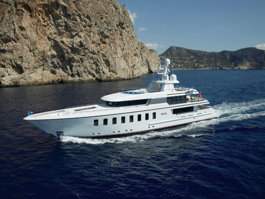 44.65m motor yacht Helix by Feadship