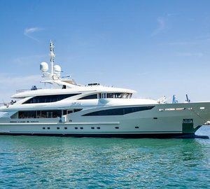 50m motor yacht BELLE ANNA by ISA Yachts successfully launched