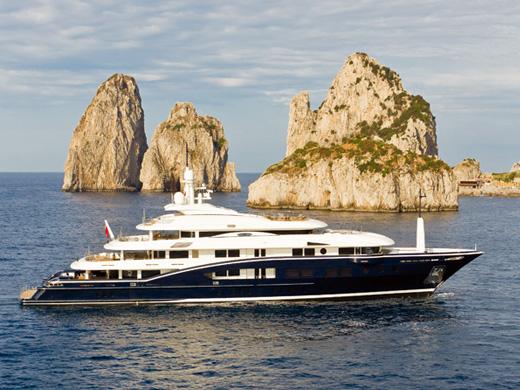 70m motor yacht Numptia by Rossi Navi