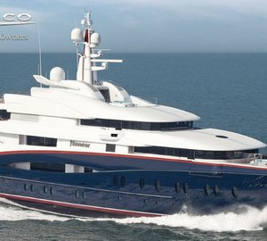Oceanco delivers the 88.5m motor yacht NIRVANA (project Y707)