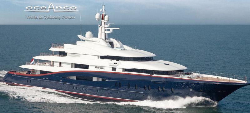 88.5m motor yacht Nirvana (project Y707) by Oceanco